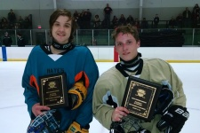 Varsity All Stars MVPs: Anders Lindgren (Teal Team) - Kankakee Irish & Nicholas Lemke (Gold Team) - AWFM Renegades