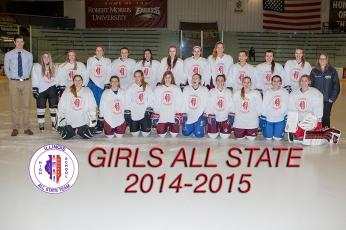 Girls All State White