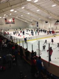 The Admirals Hockey Club played host to 102 skaters at Center Ice of DuPage on Saturday, February 21, 2015