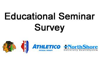educational seminar survey