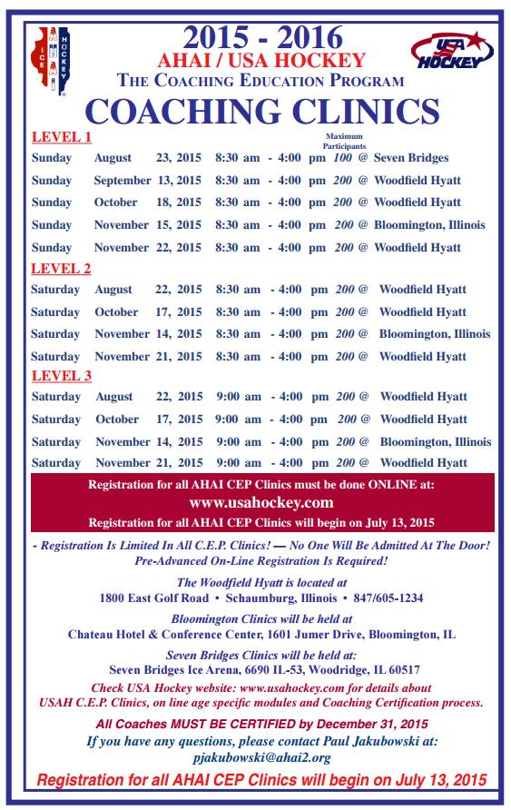 2015.16 CEP Schedule