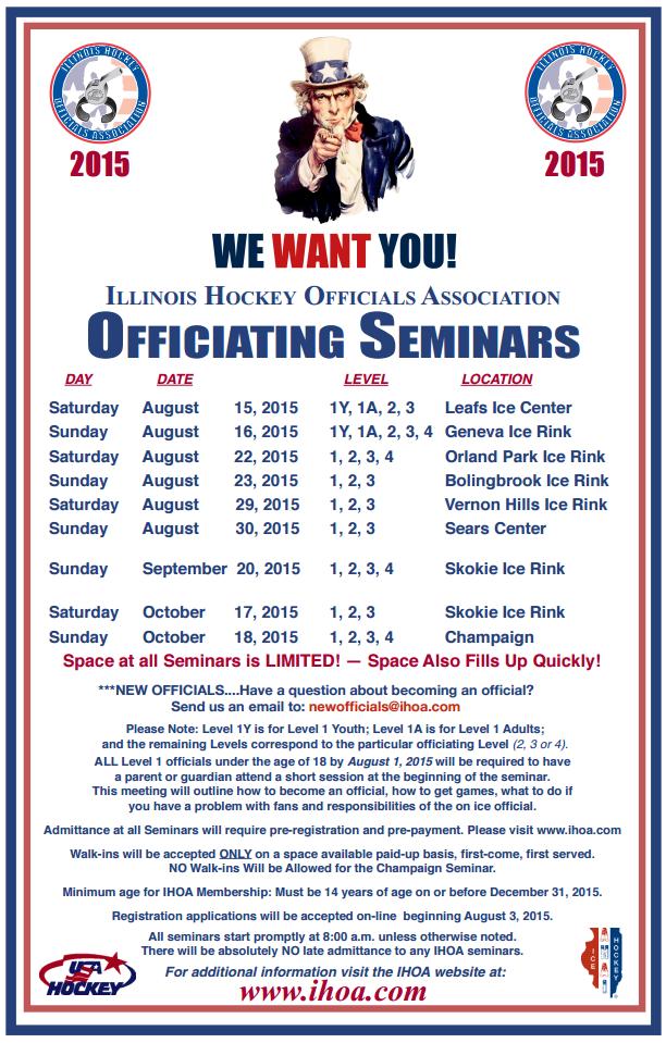 2015 Officiating Seminars