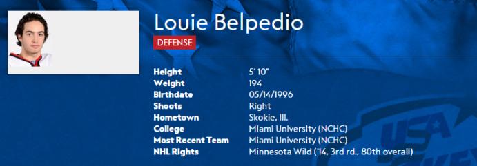 Belpedio 2015 nat eval camp bio