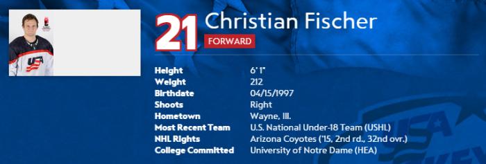 Christian Fischer 2015 nat eval camp bio