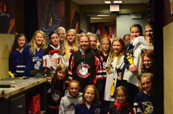 world girls hockey