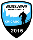 2015 Bauer World Invite logo boys