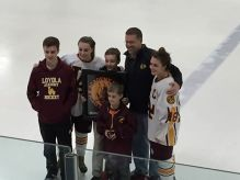Loyola Senior Night 3