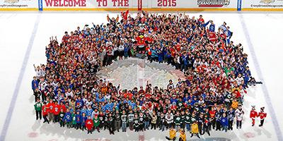 2016 State Tournament on ice photo