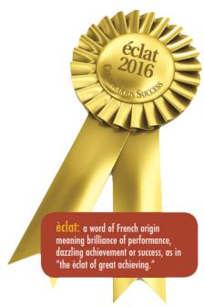 eclat 2016 award