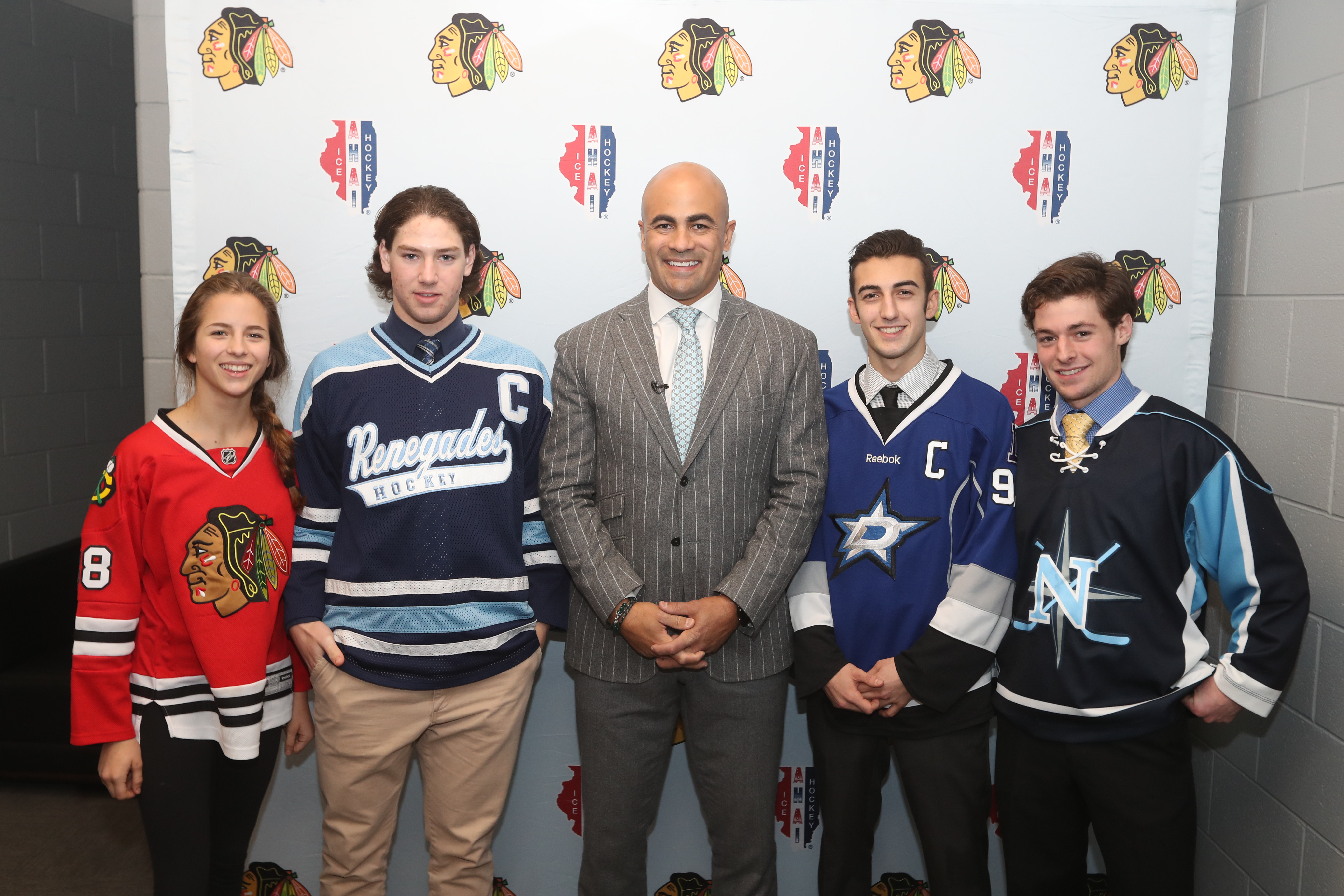 IL H.S.: Chicago Blackhawks December Captains Spotlight - Grace Giangreco, Eric Molitor, Billy Carroll & Michael Liszka