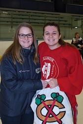 Caitlin M. Schneider, #18 (Glenbrook Girls) 2017 Terry J. Stasica MVP Award Recipient - AHAI Girls' All-State Game