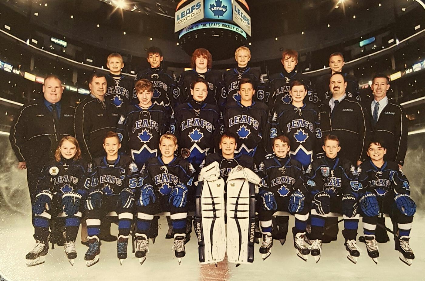 Leafs Hockey Club Plays Host To Big Brothers Big Sisters Organization