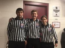 Girls Varsity: (L-R) (L) Michael Seery, (R) Matthew Bleck, (L) Heather Ruchim