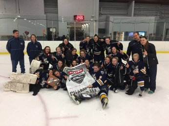 Sabre Girls Hockey - 19U Tier II Champions