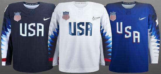 cc88b1981 USA Hockey unveiled today the three Nike jerseys that its 2018 Olympic and  Paralympic teams will wear during the upcoming Games in PyeongChang