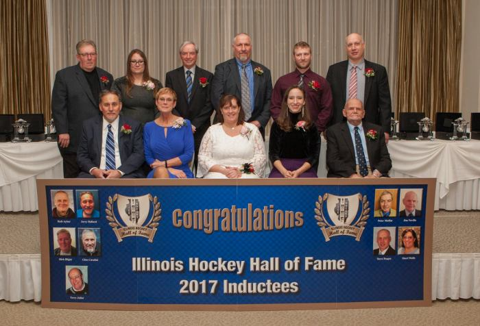 illinois hockey hall of fame inducts nine new members into the class