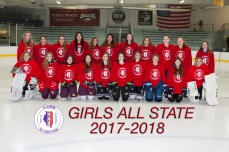 2018 Girls Red All-State Team