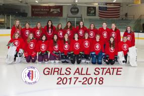 2018 Girls All-State Red Team