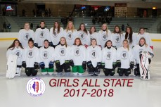 2018 Girls White All-State Team