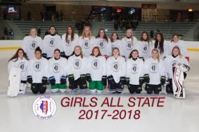 2018 Girls All-State White Team