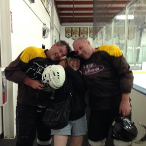 Mike Napholz (R), Tom Napholz (L), Sister, Kathie Napholz (C). Photo courtesy of Mike Napholz.