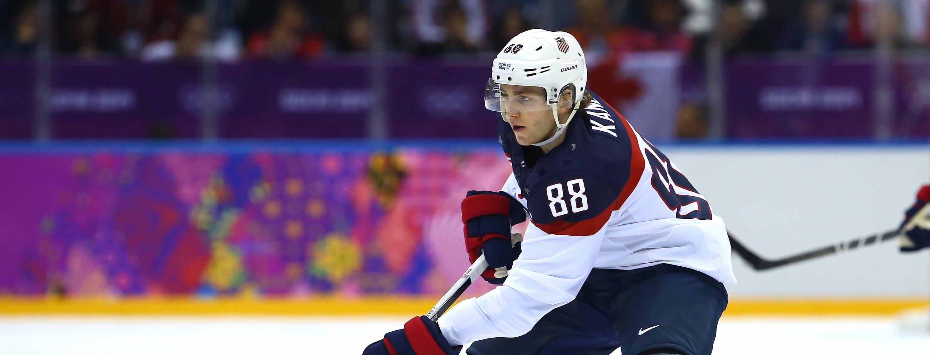 78a275a2e Patrick Kane to Serve as Captain of 2018 U.S. Men s National Team