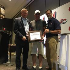 USA Hockey Female Honors Award: Doug Kent, President of CIGHA