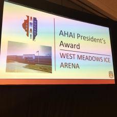 AHAI President's Award: West Meadows Ice Arena