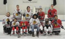 Chicago Blackhawks Blind Hockey Team