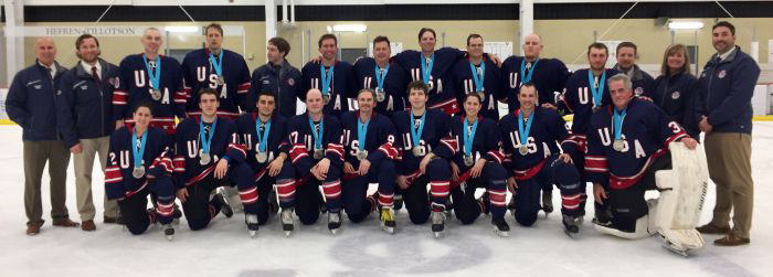 dec2c809e22 USA Blind Hockey Team Wins Silver Medal in Pittsburgh