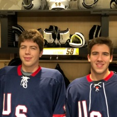 Matthew Miller (L) and Luke Miller (R)