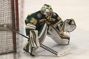 Glenbrook North goalie Brennan Nein