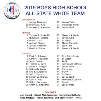2019 BOYS ALL STATE WHITE ENEWS