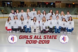 2019 GIRLS ALL STATE WHITE TEAM