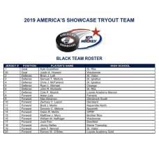 2019 SHOWCASE BLACK ROSTER