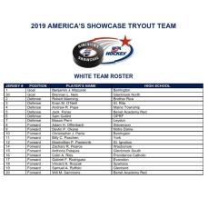2019 showcase white roster 2