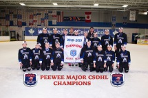 CSDHL Pee Wee Major Champions - Bulldogs