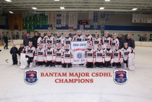 CSDHL Bantam Major Champions - Falcons