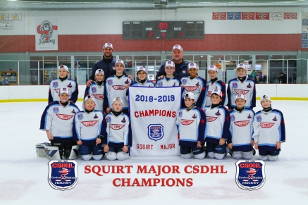 CSDHL Squirt Major Champions - Jets