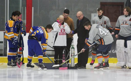 Oswego Hockey Club hosts Pink in the Rink - Rallying for a cure one goal at a time