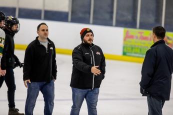 Head Varsity Coach, Greg Mrofcza and Assistant Varsity Coach, Brian Barnes