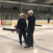 USA Hockey's Heather Mannix and Dan Jablonic