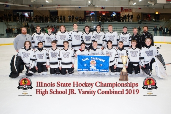 Wheaton West Black - 2019 JV Combined State Champions