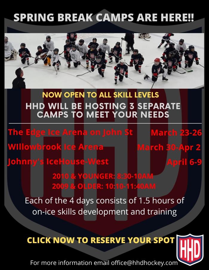 HHD Spring Break 2020 online