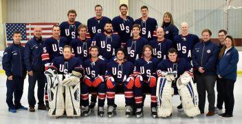 USA National Blind Hockey Team